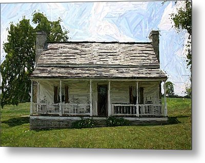 The Bottom House II - Perryville Ky Metal Print by Thia Stover