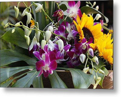 The Bouquet Metal Print by Ivete Basso Photography