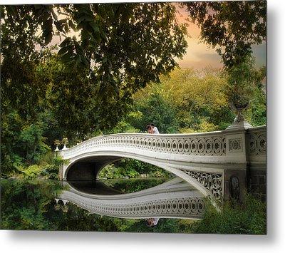 The Bow Bridge Metal Print by Jessica Jenney