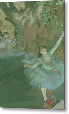 The Bow Of The Star Metal Print by Edgar Degas