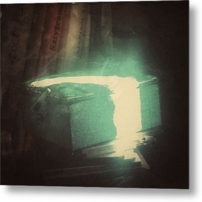 Metal Print featuring the photograph The Box For Wishes  by Steven Huszar