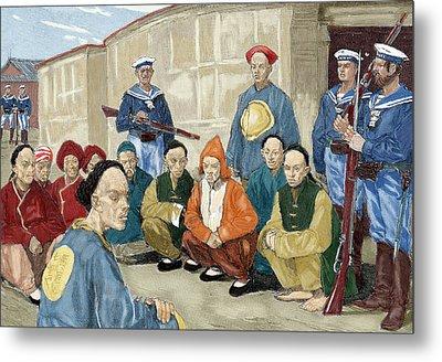 The Boxer Rebellion (1900 Metal Print by Prisma Archivo