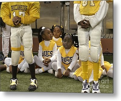 Metal Print featuring the photograph The Boys And The Girls by Jim West