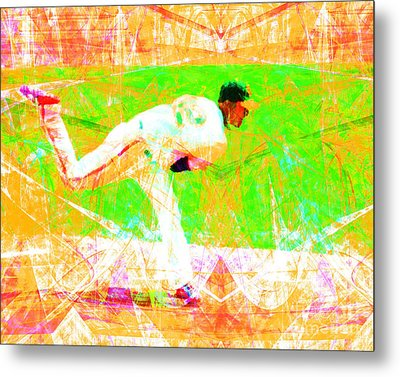 The Boys Of Summer 5d28161 The Pitcher V1 Metal Print