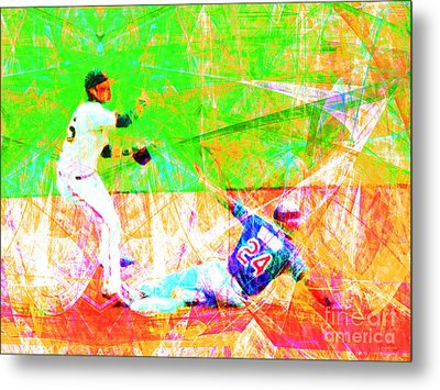 The Boys Of Summer 5d28208 The Double Play Metal Print by Wingsdomain Art and Photography