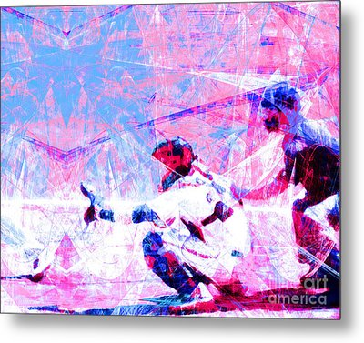 The Boys Of Summer 5d28228 The Catcher V3 Metal Print by Wingsdomain Art and Photography