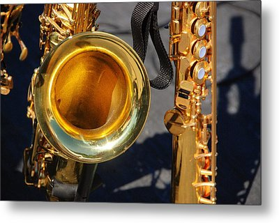 The Brass Section Metal Print