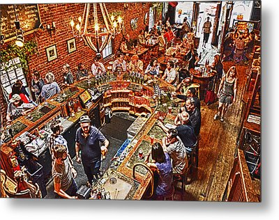 The Brick Store Pub Metal Print