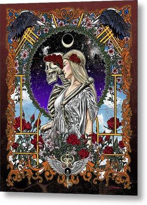 The Bride Metal Print by Gary Kroman