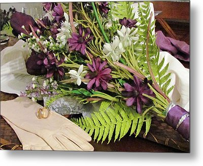 Metal Print featuring the photograph The Bride To Be by Cynthia Guinn