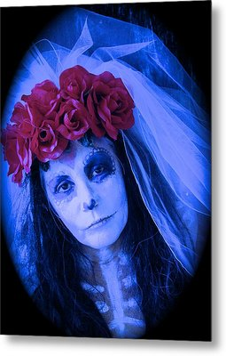 The Bride Waits Metal Print