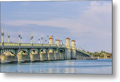 The Bridge Of Lions Metal Print
