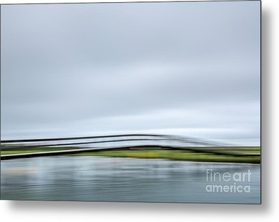 The Bridge Metal Print by Susan Cole Kelly Impressions