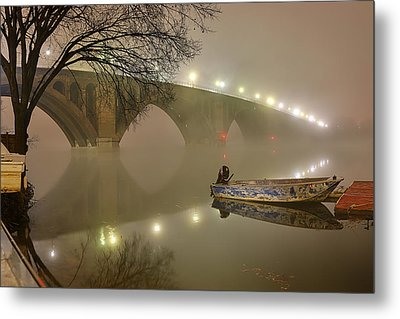 The Bridge To Nowhere Metal Print