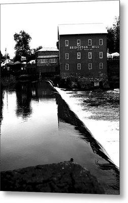 The Bridgeton Mill By Earl's Photography Metal Print by Earl  Eells a
