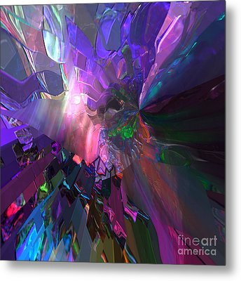 The Brighter Side Metal Print