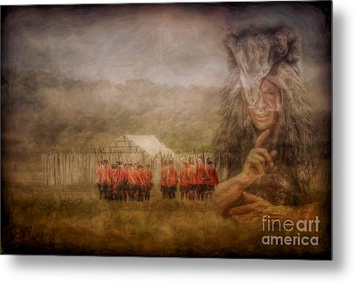 The British Are Here Metal Print
