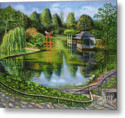 The Brooklyn Botanic Garden Metal Print