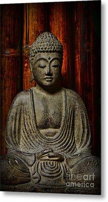 The Buddha Metal Print by Paul Ward