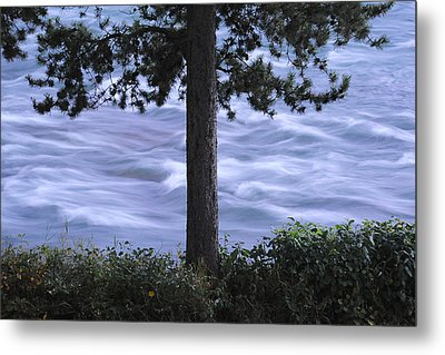 The Bulkley River Metal Print by Mary Lee Dereske