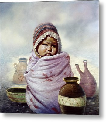 The Bundle Metal Print by Gregory Perillo