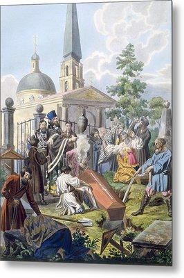 The Burial, 1812-13 Metal Print