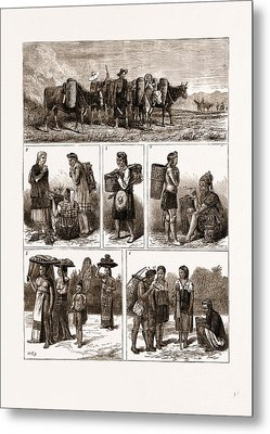 The Burmese Frontier Difficulty Metal Print by Litz Collection