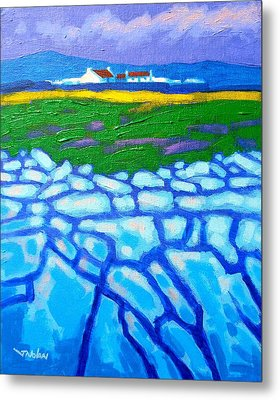 The Burren County Clare Ireland Metal Print by John  Nolan