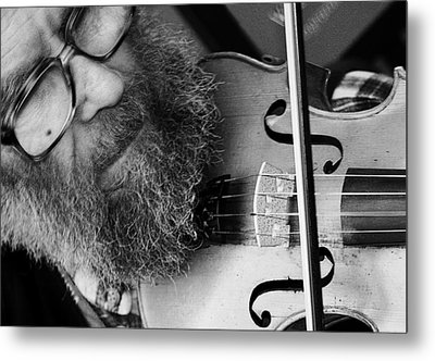The Busker Metal Print by Stephen Norris