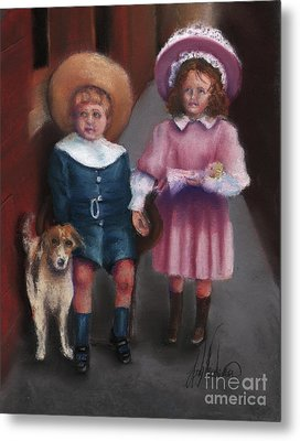 The Buster Browns Metal Print by Leah Wiedemer