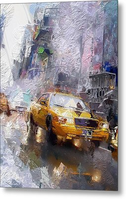 The Cab  Metal Print by Steve K