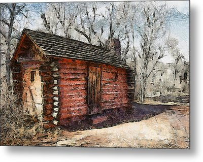The Cabin Metal Print by Ernie Echols