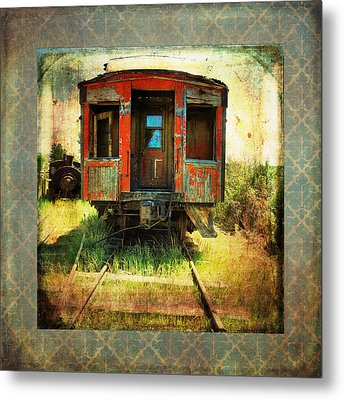The Caboose Metal Print