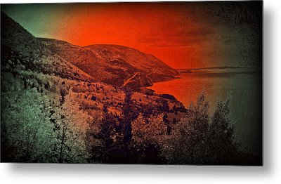 The Cabot Trail Metal Print