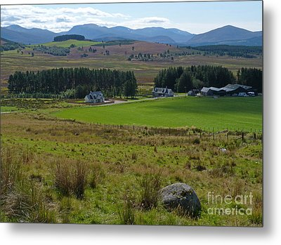 The Cairngorms From Corriechullie Metal Print