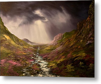 The Cairngorms In Scotland Metal Print