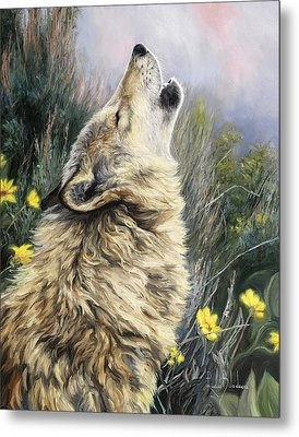 The Call Metal Print by Lucie Bilodeau