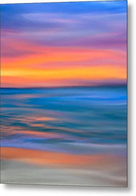 The Call Of Distant Seas Metal Print by Mark E Tisdale