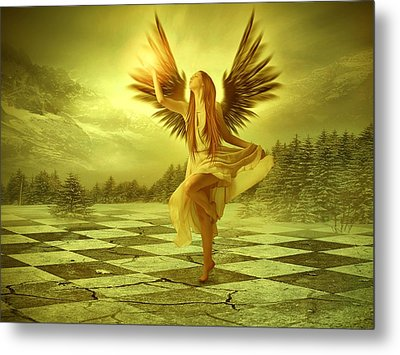 The Calling Metal Print by Ester  Rogers