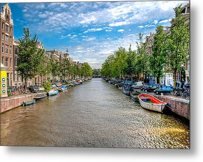 Metal Print featuring the photograph The Canal by Brent Durken