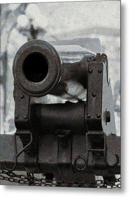 The Cannon Metal Print by Ernie Echols