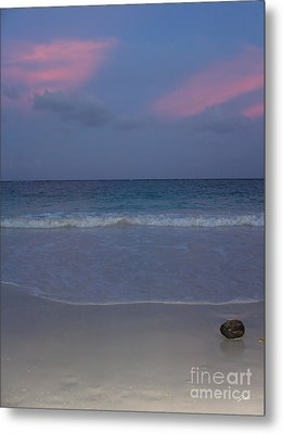 The Caribbean Sunset Metal Print by Ze  Di