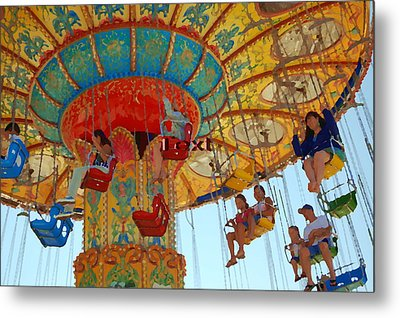 The Carnival Metal Print by Tamyra Crossley