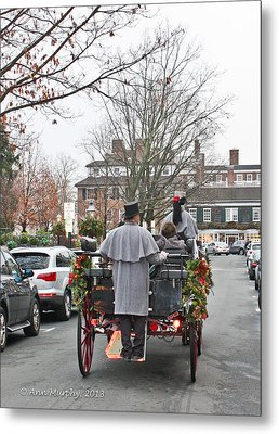 Metal Print featuring the photograph The Carriage Ride by Ann Murphy