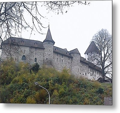 Metal Print featuring the photograph The Castle In Autumn by Felicia Tica