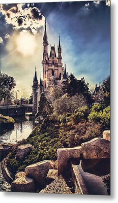 Metal Print featuring the photograph The Castle by Joshua Minso