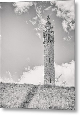 The Castle Tower Metal Print by Scott Norris