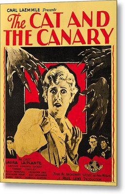 The Cat And The Canary Metal Print