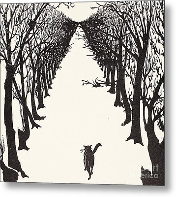 The Cat That Walked By Himself Metal Print by Rudyard Kipling