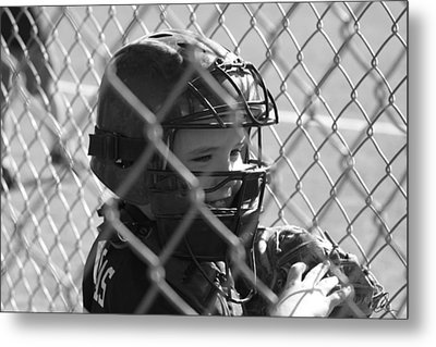 The Catcher Metal Print by Chris Thomas